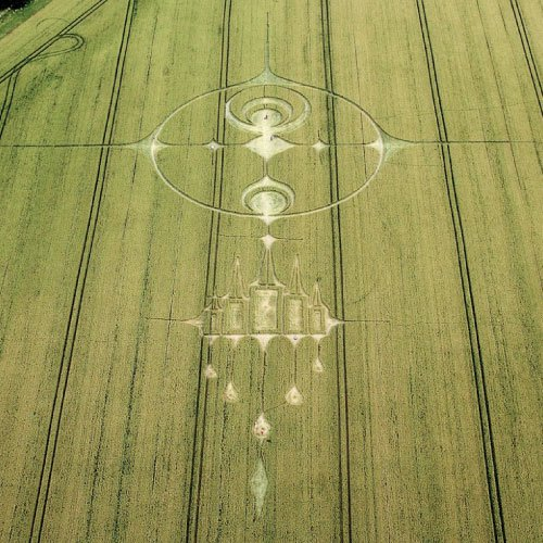 2012 Crystal Castle Crop Circle - Wiltshire England - From Patty Greer Films