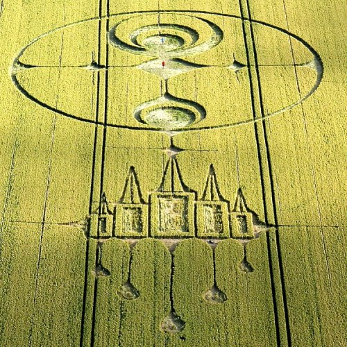 Crystal Castle Crop Circle 2012, Wiltshire England UK- from Patty Greer Films