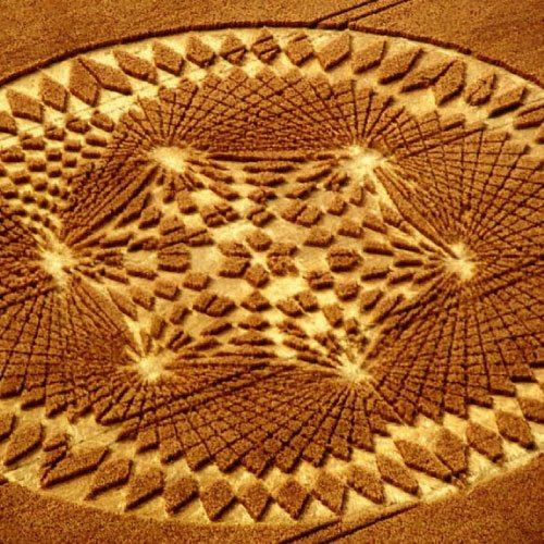 Intricate Crop Circle - Wiltshire England UK - from Patty Greer Films