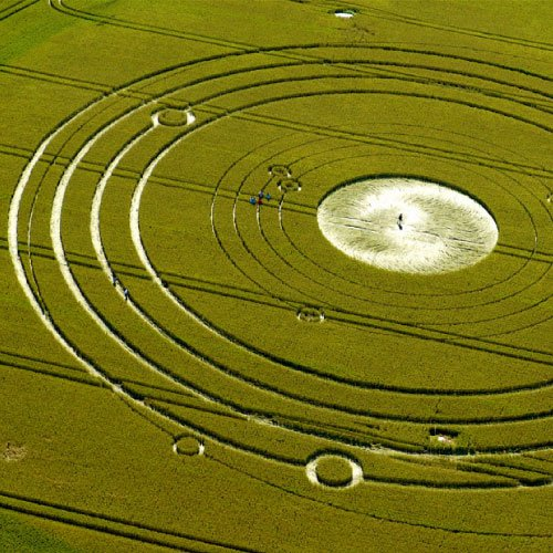 Avebury Manor 2010 Crop Circle - Wiltshire England UK - from Patty Greer Films
