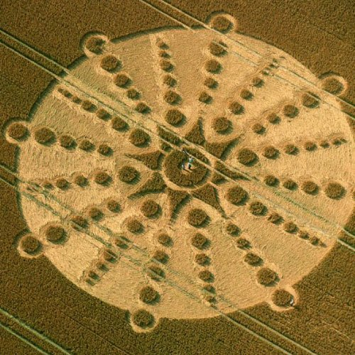 Crop Circle, Wiltshire England UK - from Patty Greer Films
