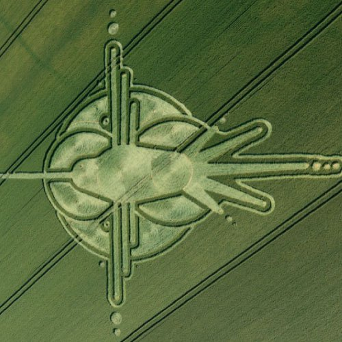 Hummingbird Crop Circle 2009, Wiltshire England UK- from Patty Greer Films