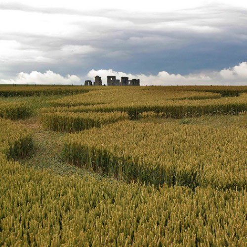 Crop Circle at Stonehenge, UK - from Patty Greer Films