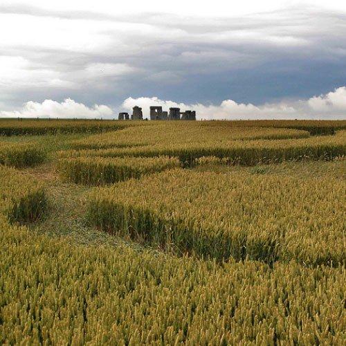 Crop Circle at Stonehenge, UK - from Patty Greer Films