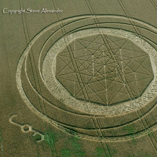 Intricate UK Crop Circle, Wiltshire England UK- from Patty Greer Films