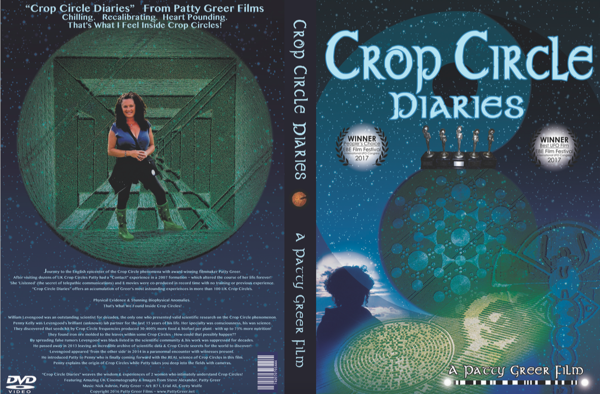 CROP CIRCLE DIARIES cover