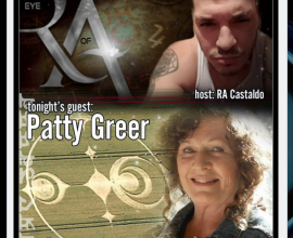 Patty Greer and Ra Castaldo on Eye of Ra Show Episode #11 – 11/25/17
